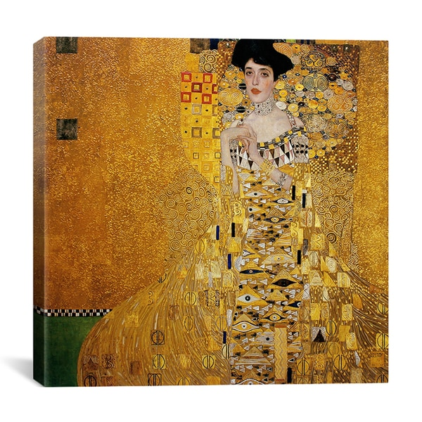 Gustav Klimt 'Portrait of Adele Bloch-Bauer I' Canvas Wall Art