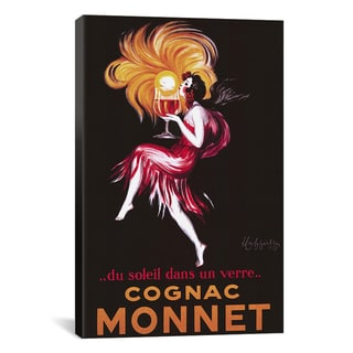 Leonetto Cappiello 'Cognac Monnet (Vintage)' Canvas Art