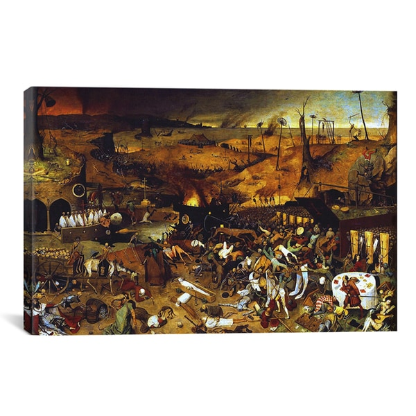 Pieter Bruegel 'The Triumph of Death' Canvas Art