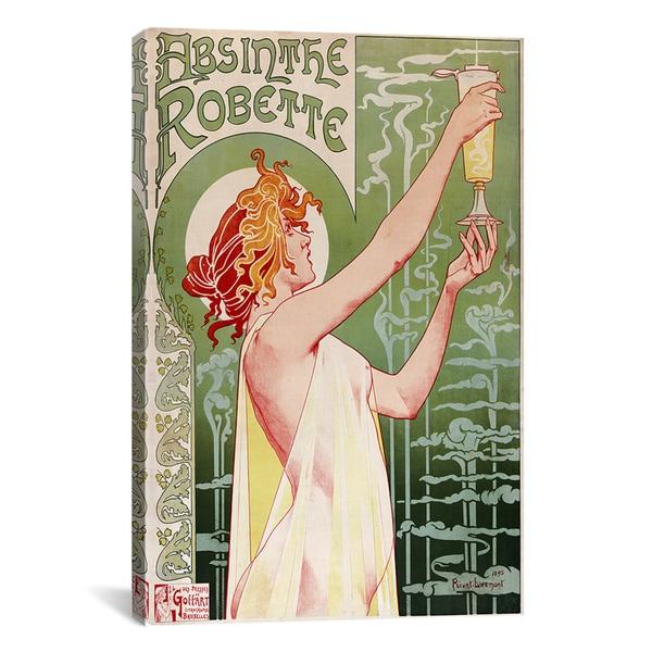 Privat Livemont 'Absinthe Robette Vintage Poster' Canvas Art