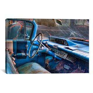 Bob Rouse '60 Buick Lesabre Interior' Canvas Art Print