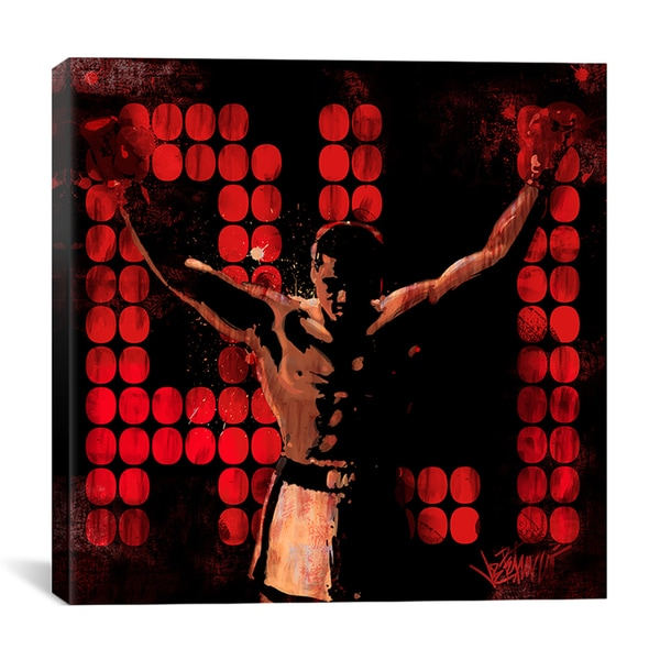 Joe Petruccio 'Champ (Muhammad Ali)' Canvas Wall Art