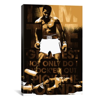 'Muhammad Ali vs. Sonny Liston, 1965 'I Am the Greatest'' Wall Art