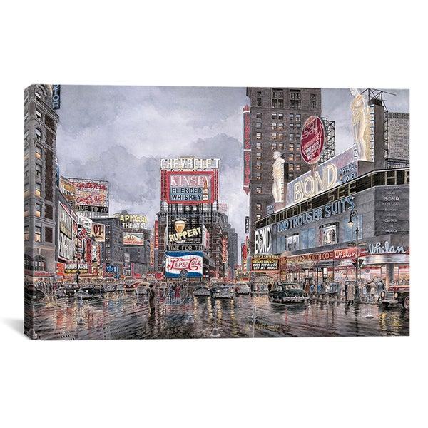 Stanton Manolakas 'Times Square: New York' Canvas Art Print