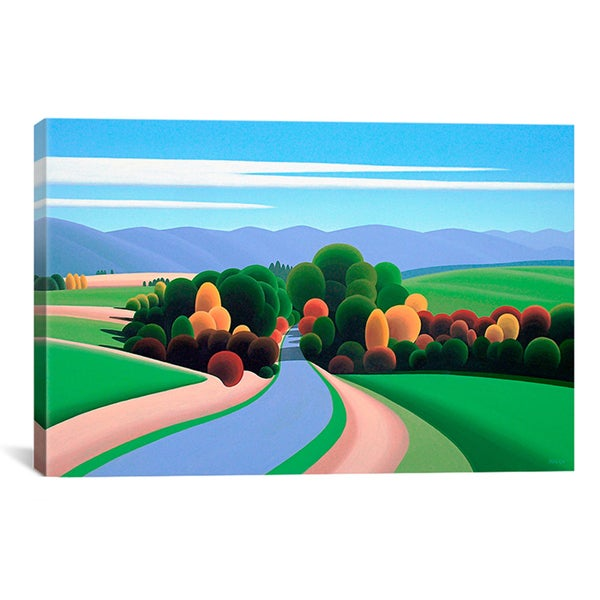 Ron Parker 'The Winding Road' Canvas Art