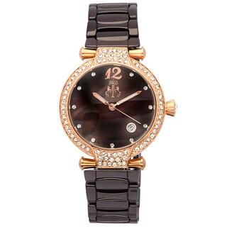 Jivago Women's Brown Bijoux Watch