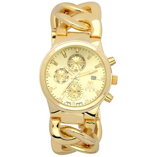 Jivago Women's Lev Gold-tone Watch