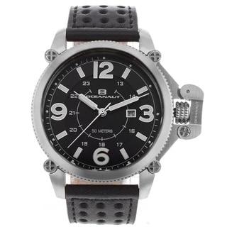 Oceanaut Men's Scorpion Watch with Black Dial