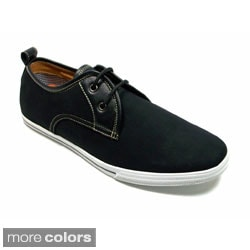 Polar Fox Men's Casual Lace-Up Round-Toe Boat Shoes