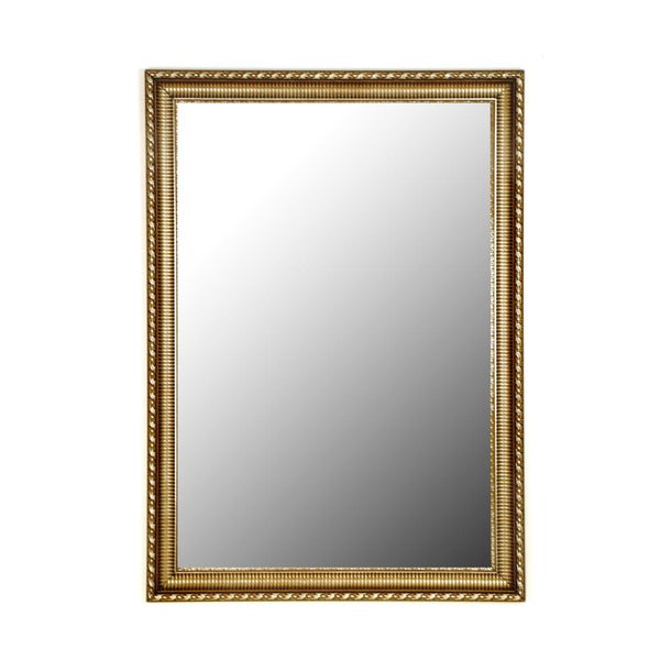 Athenian Ornamented Silver Mirror
