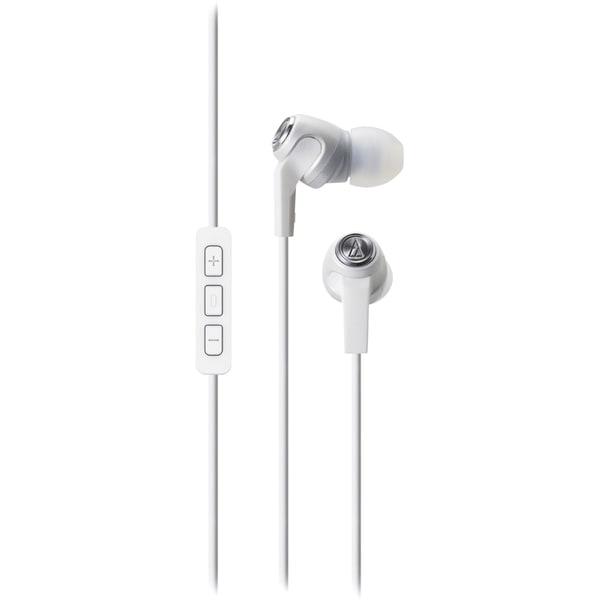 Audio-Technica ATH-CK323i SonicFuel In-Ear Headphones with Mic & Volu