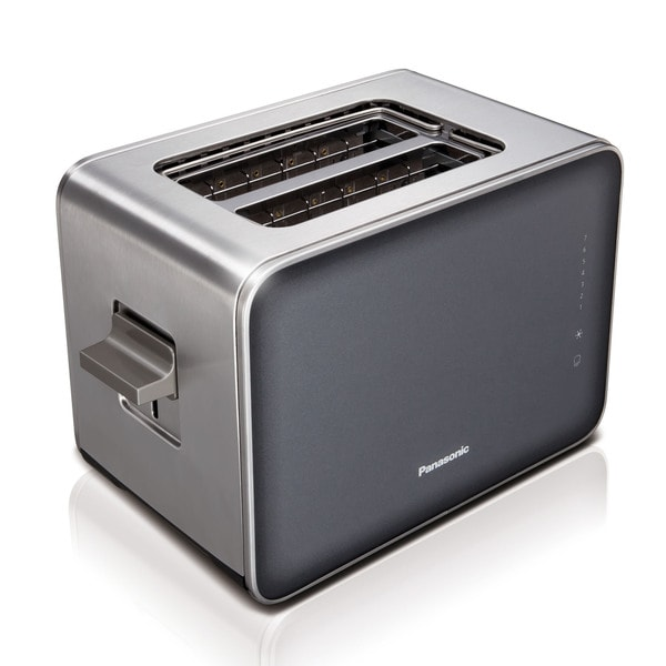 Panasonic Smoke Stainless Steel/ Glass 7 Browning Controls Toaster