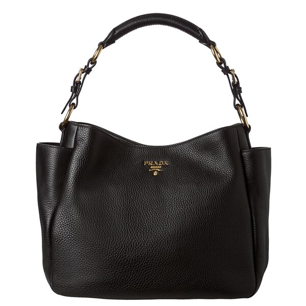 replica prada mens bags - prada black leather handbag