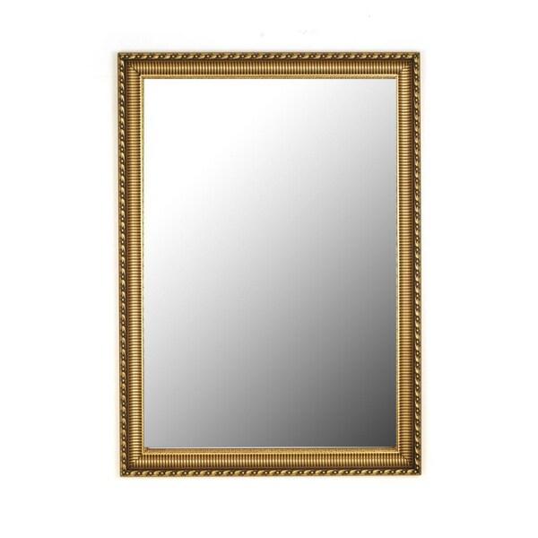 Athenian Ornamented Gold Mirror