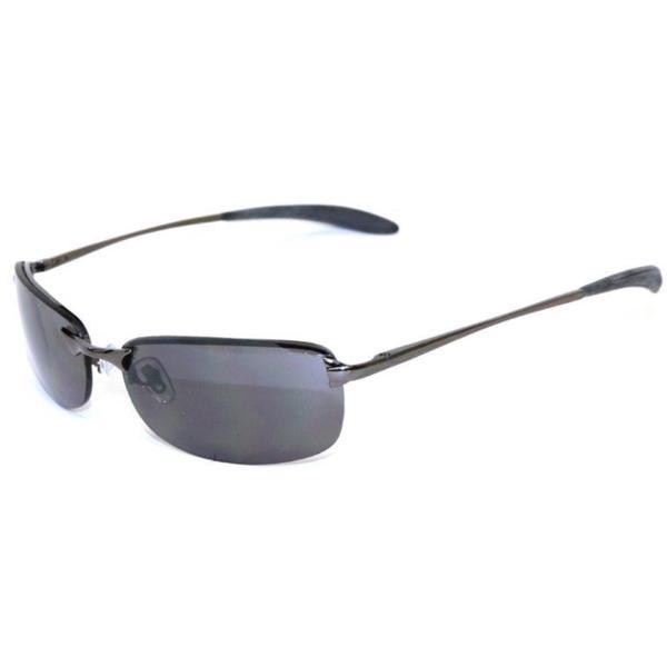 Men's 'MIssion III' Gunmetal Sport Sunglasses