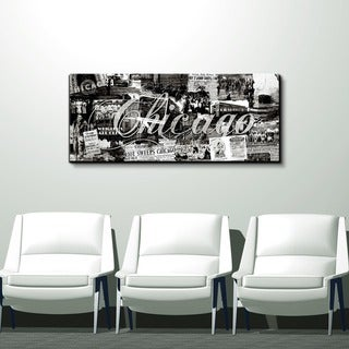 Ready2HangArt 'Chicago ' Gallery-wrapped Canvas Wall Art