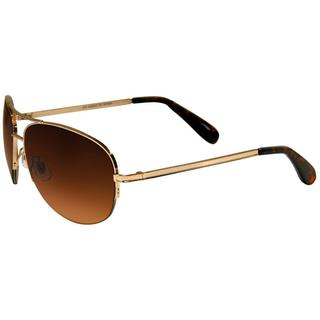 Envy Women's 'Icon' Brown Gradient Aviator Sunglasses