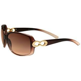 Envy Women's 'Do Studio 21' Brown Hardware-accent Sunglasses