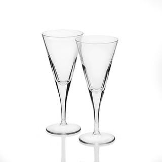 StyleSetter Clear Wine Glasses (Set of 2)