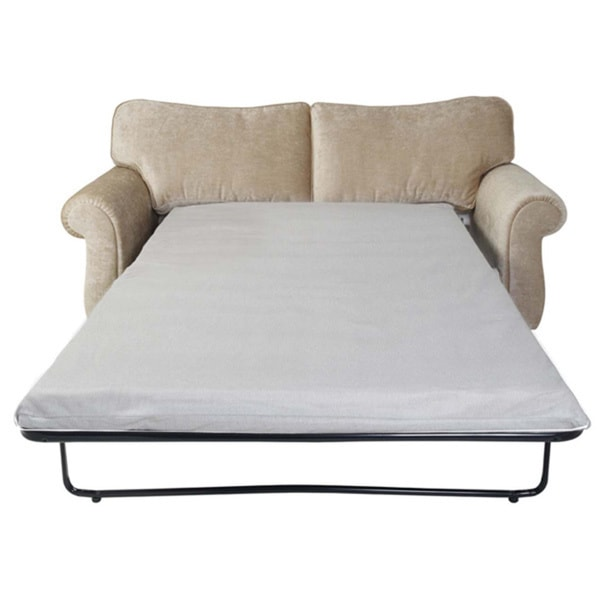 Gel Infused Memory Foam 4.75-inch Sofa Mattress and Contour Pillow Set