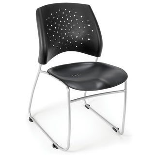 Stars Series Plastic Stacking Chair