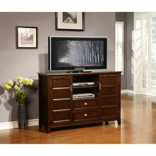 Portland Collection Espresso Brown TV Media Stand
