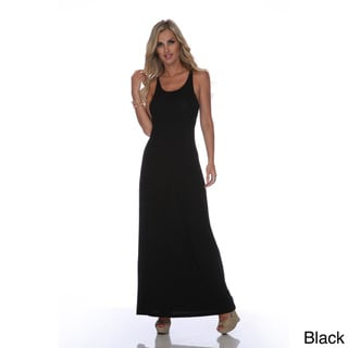 White Mark Women's 'Karin' Maxi Dress
