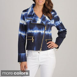 Berek Woman's Tie-Dye Asymmetrical Jacket