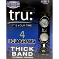 TRU Performance Black Wristband