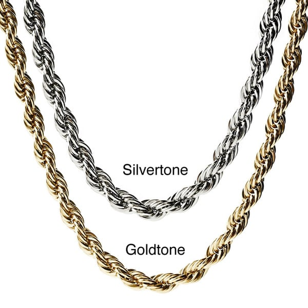 Stainless Steel Crucible Twisted Rope Chain 11464235
