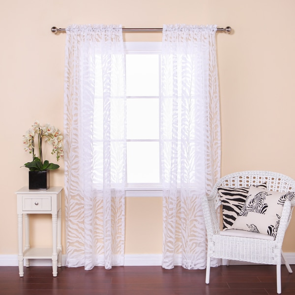 ... - Overstock.com Shopping - Great Deals on Aurora Home Sheer Curtains