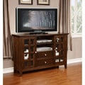 Normandy Collection Tobacco Brown Tall TV Media Stand