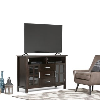 Waterloo Walnut Brown Tall TV Media Stand