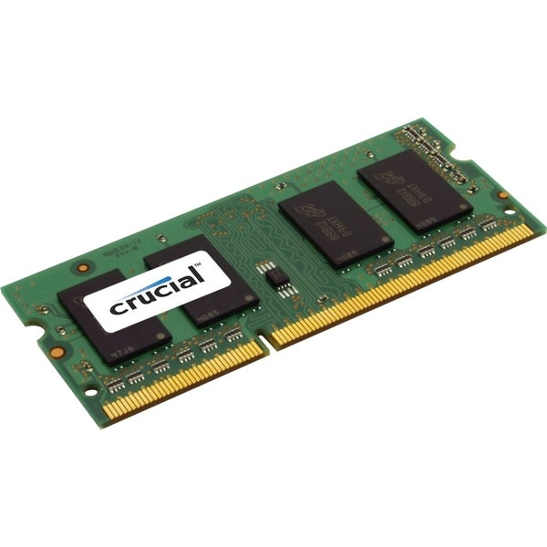 Crucial 1GB, 204-pin SoDIMM, DDR3 PC3-12800 Memory Module