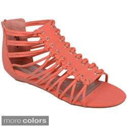 Journee Collection Women's 'Dalinda' Strappy Gladiator Sandals