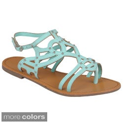 Journee Collection Women's 'Warner' Strappy Gladiator Sandals