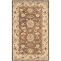 Safavieh Hand-made Anatolia Brown/ Beige Wool Rug (3' x 5')