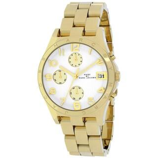Marc Jacobs Women's MBM3039 'Henry' Goldtone Chronograph Watch