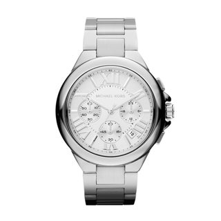 Michael Kors Women's MK5719 Camille Silvertone Chronograph Watch