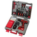 Apollo 155 Piece Kit with 9.6V Drill