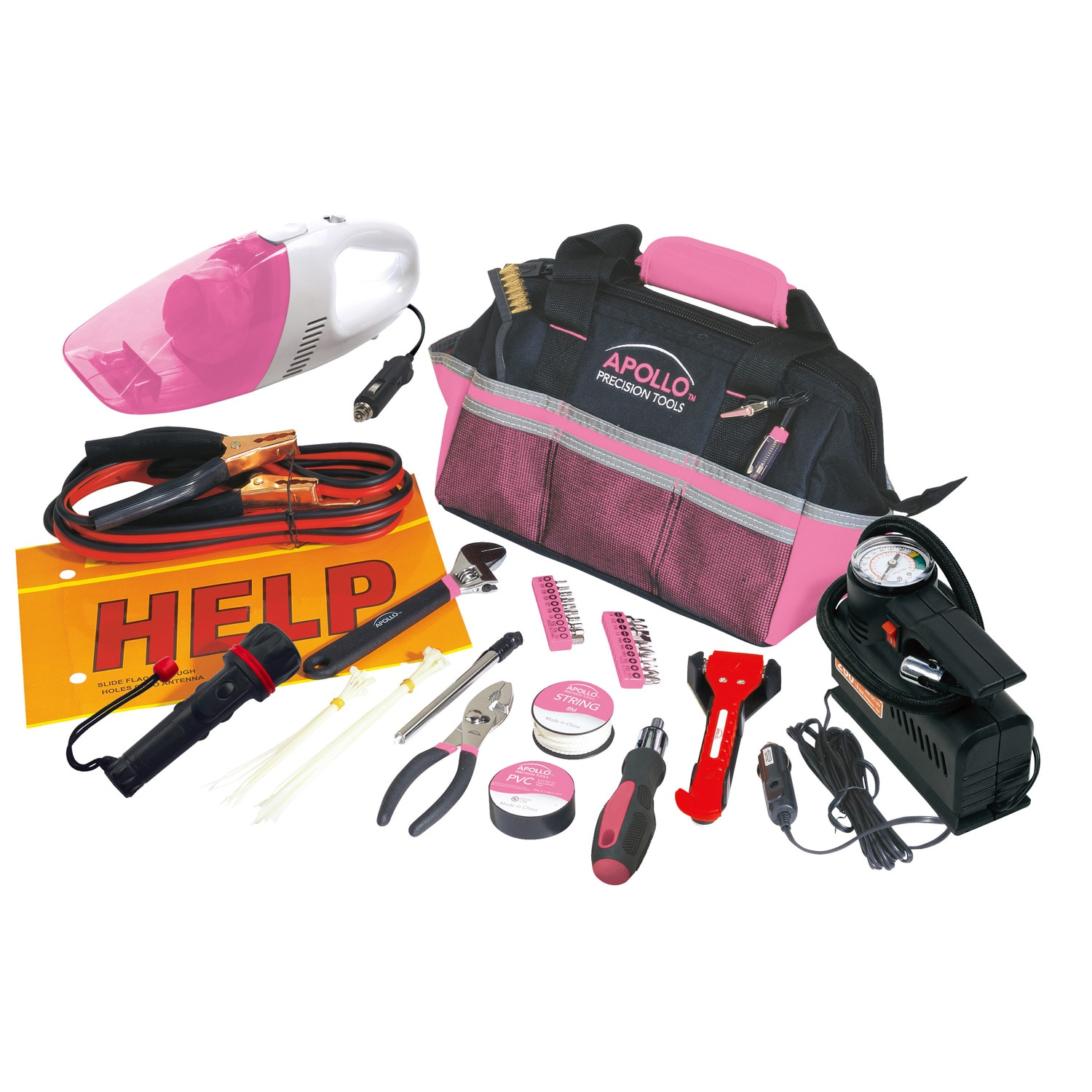 Apollo 54 Piece Roadside Tool Kit at Sears.com