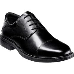 Men's Nunn Bush Jordan Black Smooth Leather