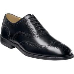 Men's Nunn Bush Kingsbridge Black Smooth Leather