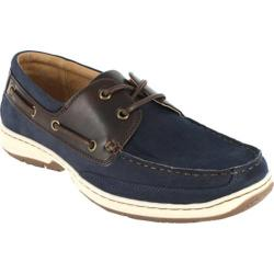 Men's Nunn Bush Outrigger Navy/Brown Nubuck
