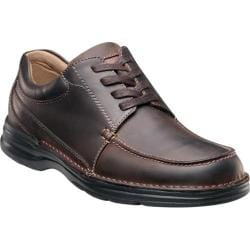 Men's Nunn Bush Paxton Brown Crazy Horse Leather