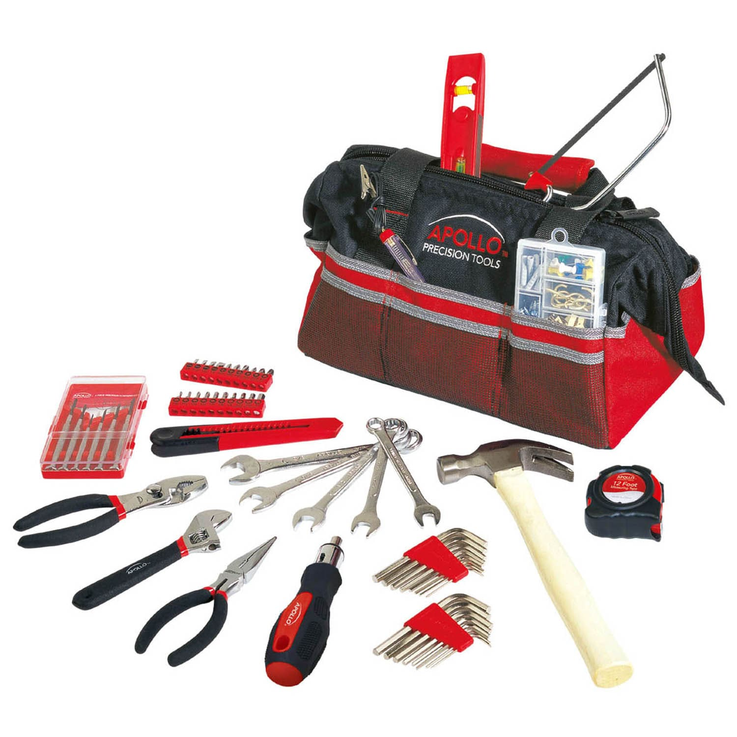 Apollo 58 Piece Tool Kit in Bag at Sears.com
