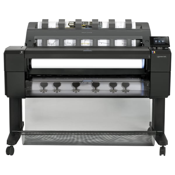 "HP Designjet T1500 PostScript Inkjet Large Format Printer - 35.98"" -"