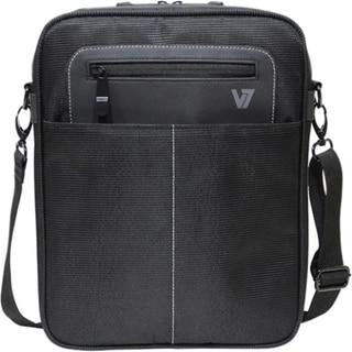 "V7 Cityline Carrying Case (Messenger) for 10.1"" Tablet PC, iPad - Bla"