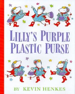 Lilly's Purple Plastic Purse (Hardcover)