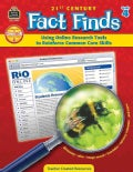 21st Century Fact Finds Using Online Research Tools to Reinforce Common Core Skills: Grade 4 (Paperback)